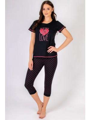 Muzzy 307 pyžamo kapri